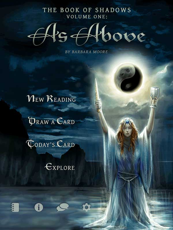 The Book of Shadows Tarot - As Above - The Fools Dog