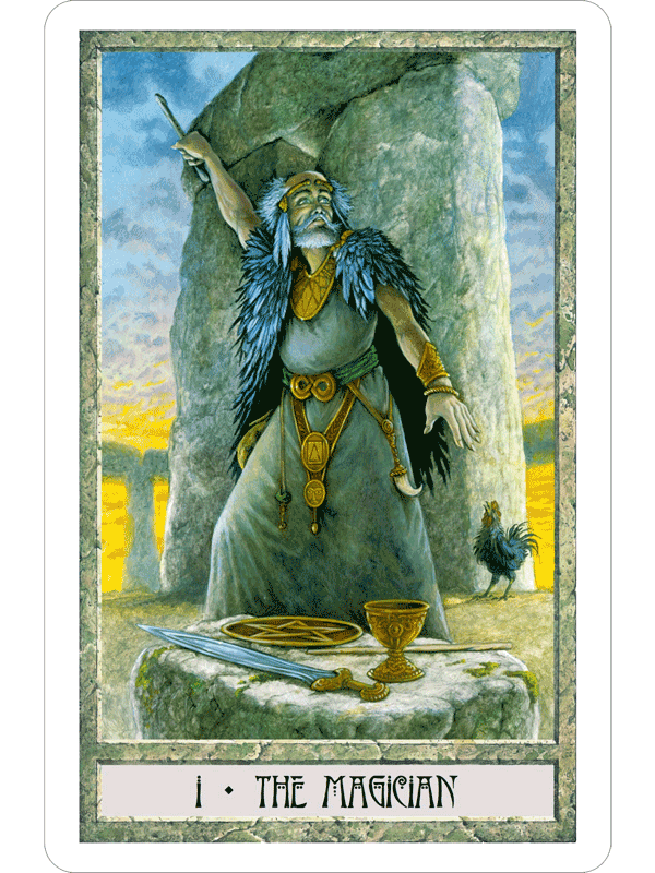 DruidCraft Tarot The Fools Dog