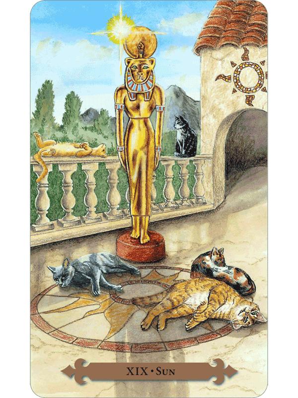 Mystical Cats Tarot The Fools Dog