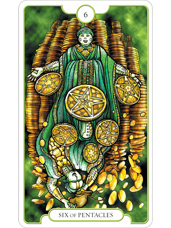 Revelations Tarot The Fools Dog The extremes of those that have and those that have not; the fool s dog