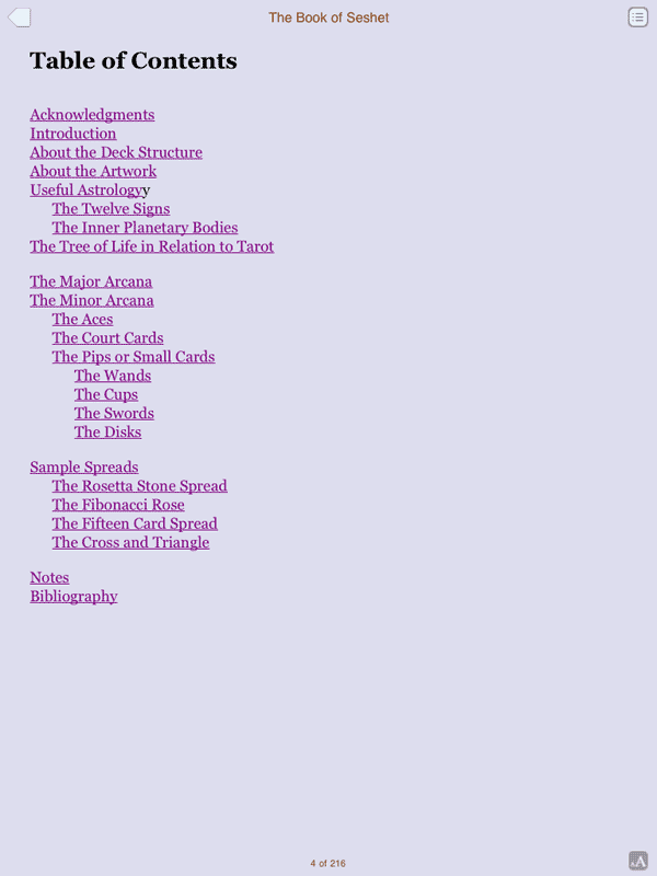 The Rosetta Tarot - The Fools Dog