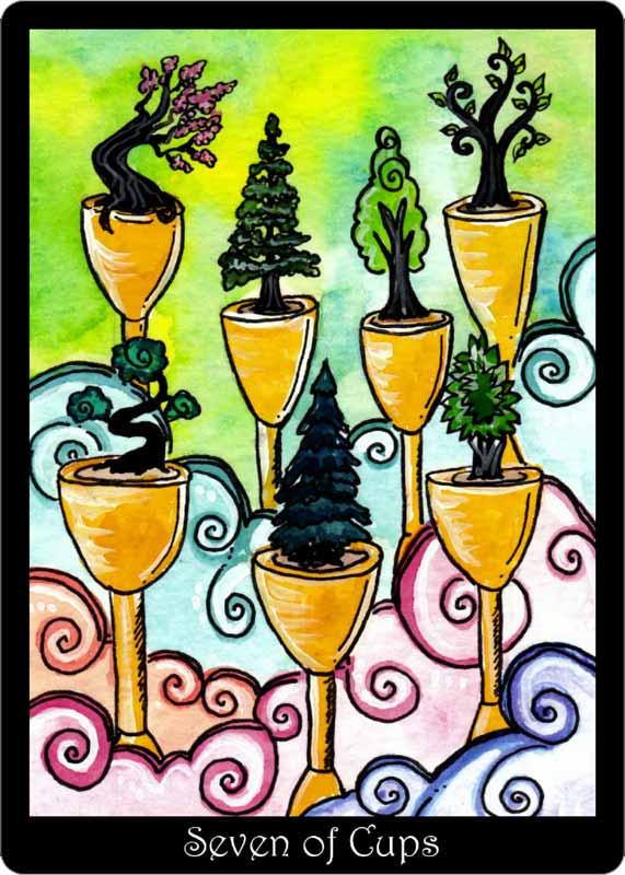 The Tarot Of Trees