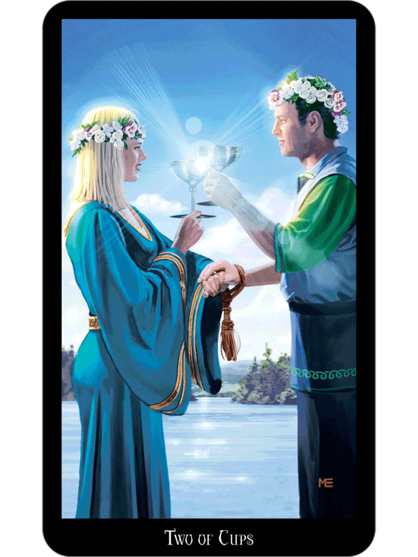 2 of cups as feelings? - Aeclectic Tarot Forum