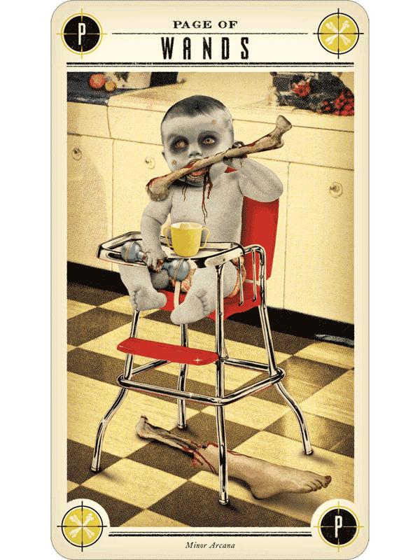 Zombie Tarot - The Fools Dog